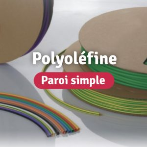Gaines Polyoléfine Paroi simple