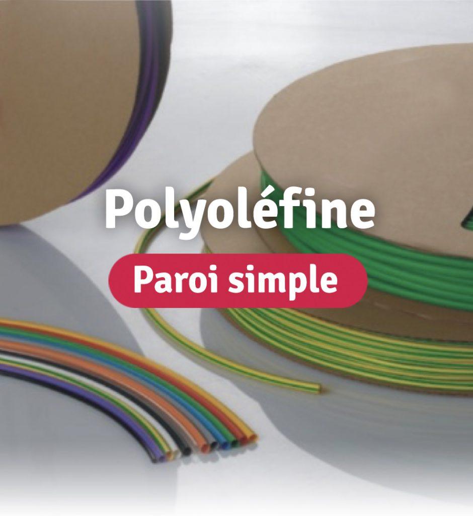 Image de la catégorie gaine polyoléfine paroi simple avec des bobines de SER et des longueurs SER