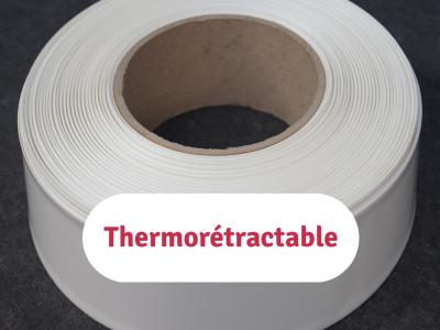 gaines en pvc thermorétractable de type sts