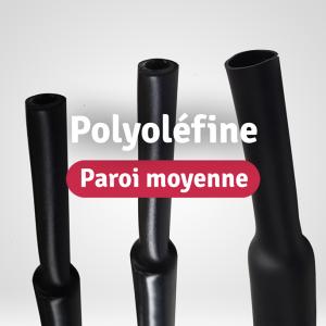 Gaines Polyoléfine Paroi moyenne
