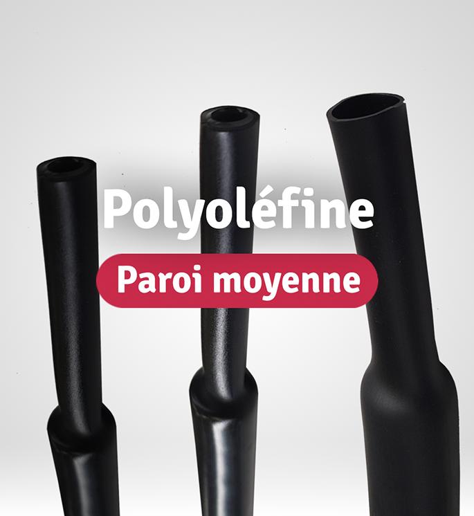 catégorie gaines thermo polyoléfine à paroi moyenne