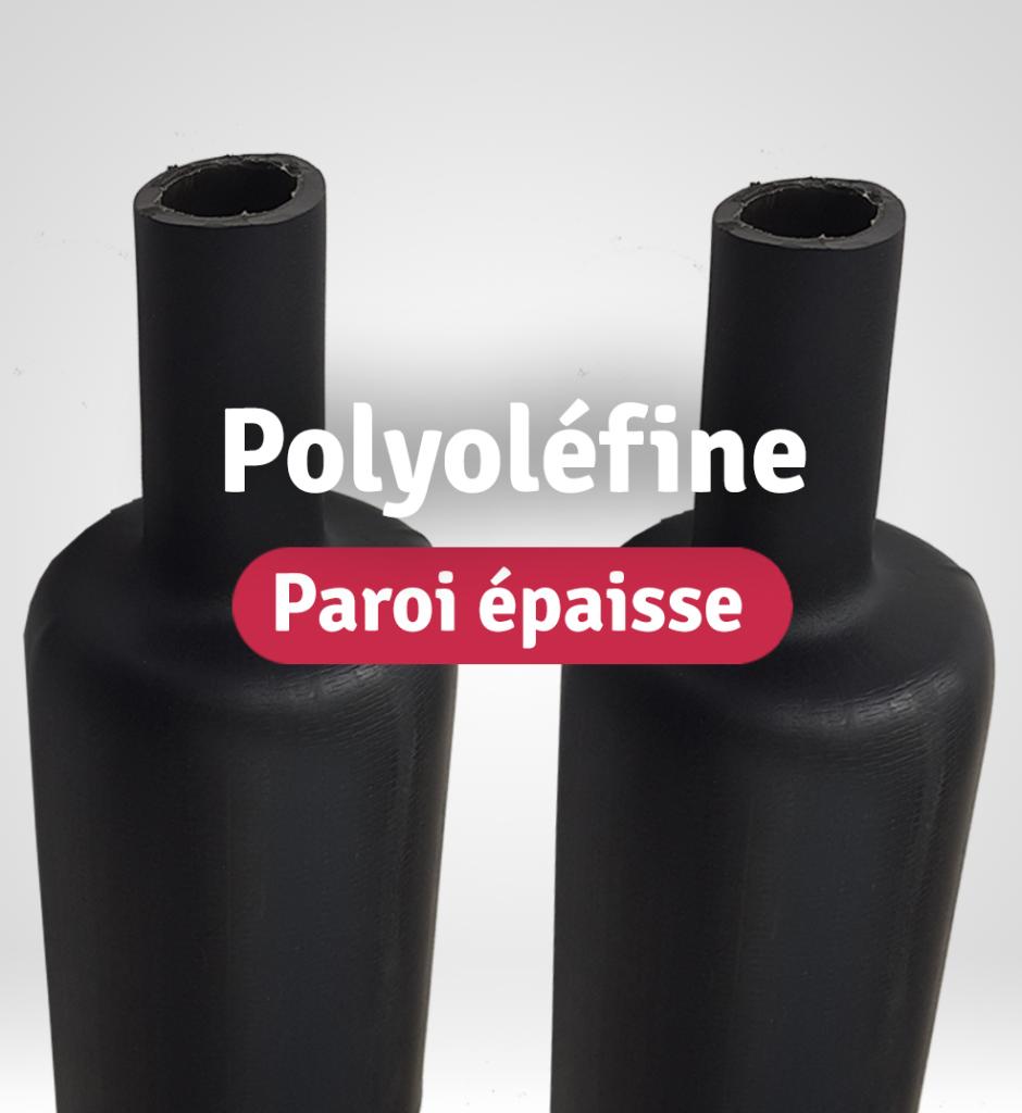 catégorie gaines thermo polyoléfine à paroi épaisse