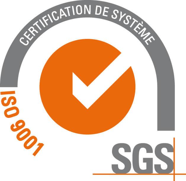 logo certification de système iso 9001